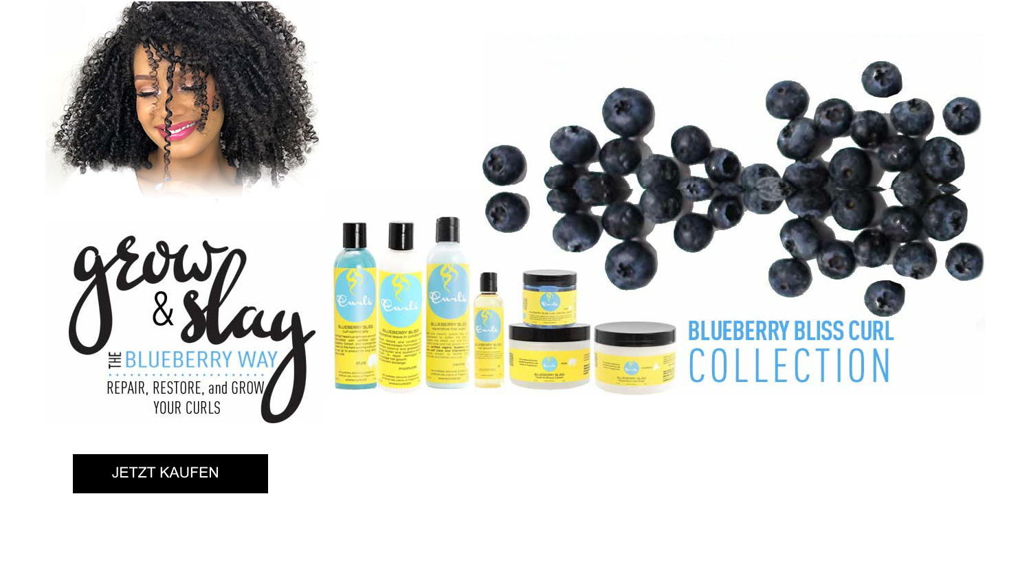 Blueberry Bliss Curl Collection
